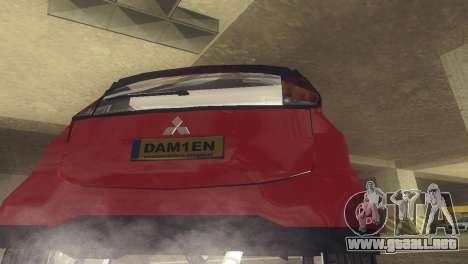 Mitsubishi i MiEV para la visión correcta GTA San Andreas