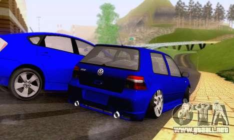 Volkswagen Golf R32 para vista lateral GTA San Andreas
