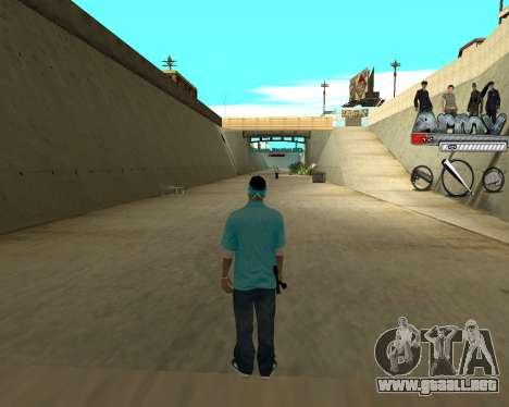 Ampliadora rango de nicks para GTA San Andreas tercera pantalla
