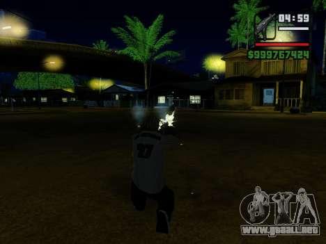 La subametralladora UZI para GTA San Andreas novena de pantalla
