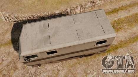 GTA IV TBoGT HVY Brickade para GTA 4 visión correcta