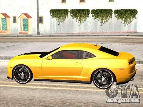 Chevrolet Camaro ZL1 2011 para GTA San Andreas left