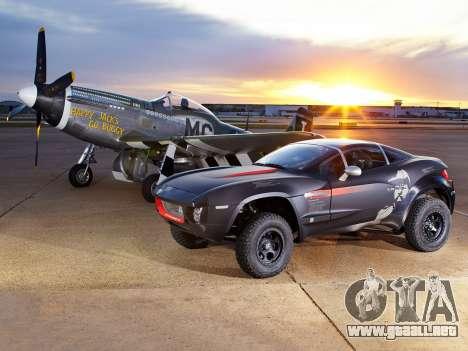 Inicio pantallas de Rally Fighter para GTA 4 octavo de pantalla
