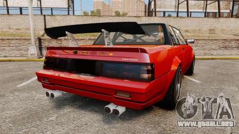 Faction Drift para GTA 4 Vista posterior izquierda