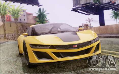 GTA V Dinka Jester IVF para GTA San Andreas left