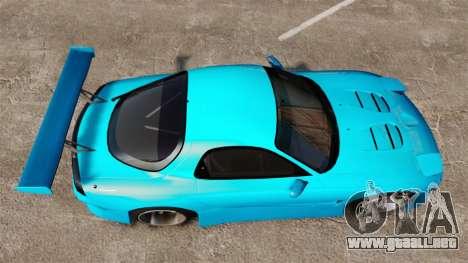 Mazda RX-7 Super Edition para GTA 4 visión correcta