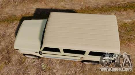 GTA V Benefactor Dubsta para GTA 4 visión correcta