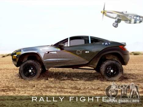 Inicio pantallas de Rally Fighter para GTA 4 segundos de pantalla