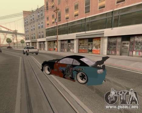 Nissan 150sx Evil Empire para la visión correcta GTA San Andreas