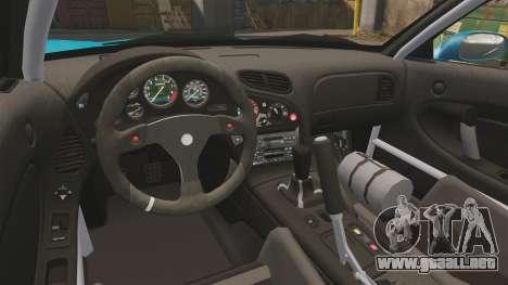 Mazda RX-7 Super Edition para GTA 4 vista hacia atrás