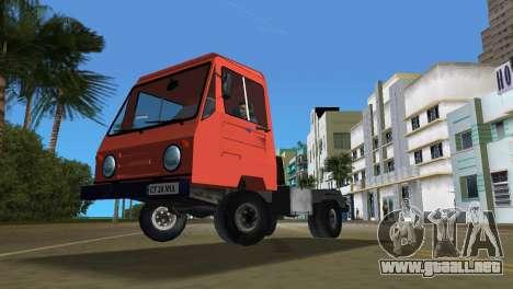 Multicar para GTA Vice City vista desde abajo
