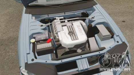Nissan Skyline ER34 GT25 para GTA 4 vista interior