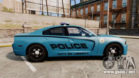 Dodge Charger 2011 LCPD [ELS] para GTA 4 left