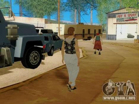Una mujer de edad avanzada v.2 para GTA San Andreas novena de pantalla