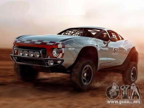 Inicio pantallas de Rally Fighter para GTA 4