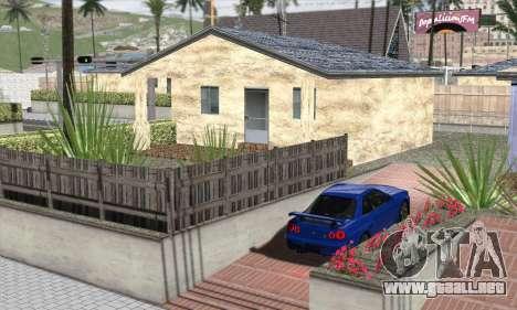 ENBSeries For Low PC para GTA San Andreas sucesivamente de pantalla