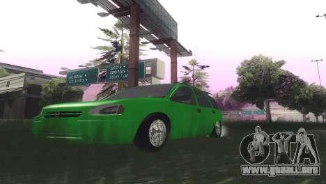 Chevrolet Corsa Wagon para visión interna GTA San Andreas