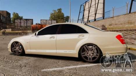 Mercedes-Benz S65 (W221) AMG para GTA 4 left