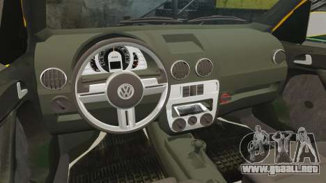Volkswagen Parati G4 Track and Field 2013 para GTA 4 vista lateral