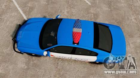 Dodge Charger 2013 LCPD [ELS] para GTA 4 visión correcta
