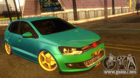 Volkswagen Polo para GTA San Andreas