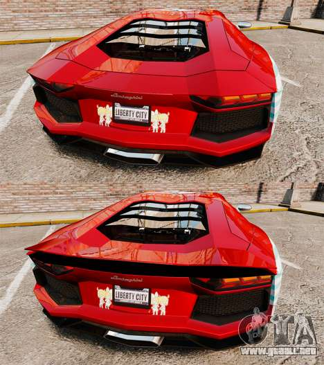 Lamborghini Aventador LP700-4 2012 [EPM] Miku 2 para GTA 4 vista desde abajo