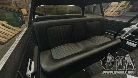Oceanic HD para GTA 4 vista lateral