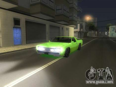 Drag Picador v1 para GTA San Andreas left