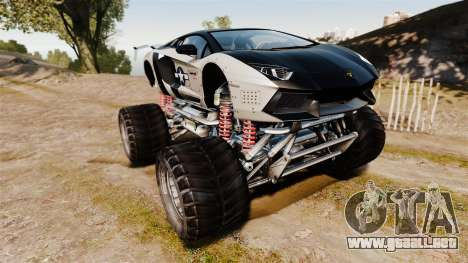 Lamborghini Aventador LP700-4 [Monster truck] para GTA 4