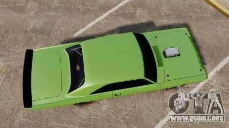 Dodge Dart 1968 para GTA 4 visión correcta