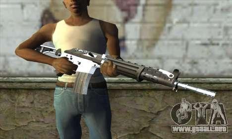 Galil para GTA San Andreas tercera pantalla