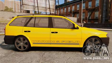 Volkswagen Parati G4 Track and Field 2013 para GTA 4 left