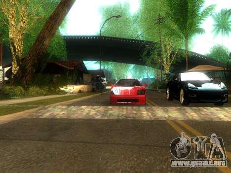 New Grove Street v2.0 para GTA San Andreas quinta pantalla