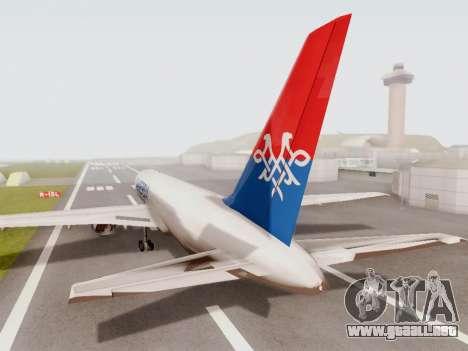 Boeing 767-300 para la visión correcta GTA San Andreas