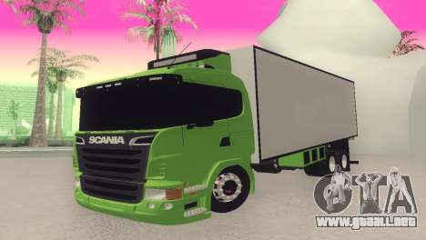Scania 310 Bau para GTA San Andreas