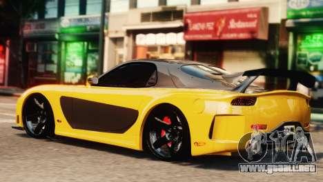 Mazda RX7 Veilside V8 para GTA 4 left