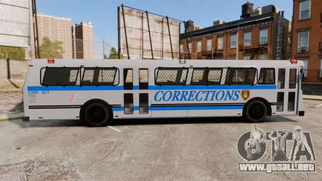 Brute Bus Corrections [ELS] para GTA 4 left