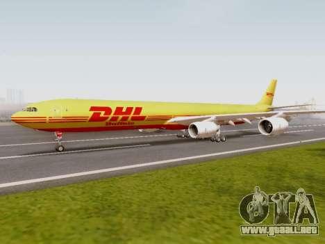 Airbus A340-600F DHL Buffalo para GTA San Andreas