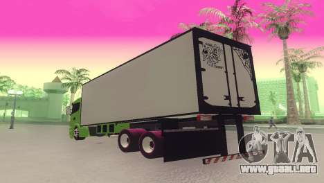 Scania 310 Bau para GTA San Andreas left