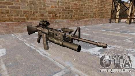 Táctica rifle M16A4 para GTA 4