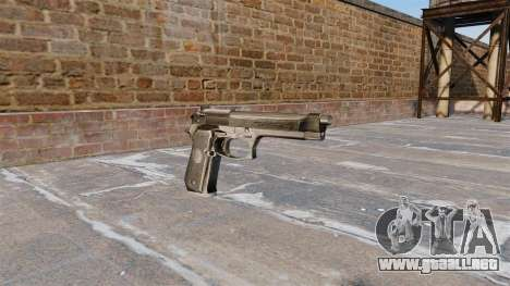 Auto-carga de la pistola Beretta 92FS para GTA 4