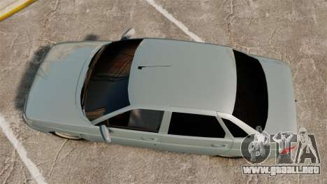 VAZ-2110 110 Bogdan para GTA 4 visión correcta