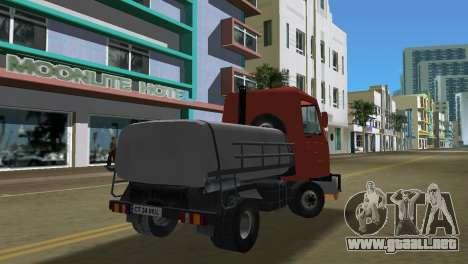Multicar para GTA Vice City vista lateral izquierdo
