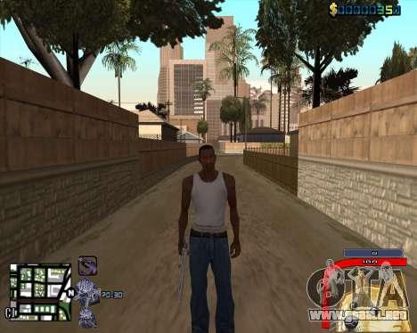 C-HUD by Mark Osborne para GTA San Andreas tercera pantalla