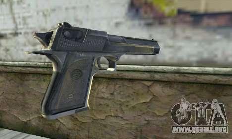 La pistola de Stalker para GTA San Andreas segunda pantalla