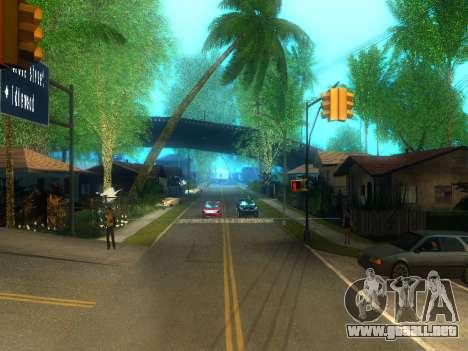 New Grove Street v2.0 para GTA San Andreas segunda pantalla