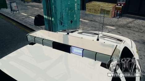 Ford Crown Victoria LCPD [ELS] para GTA 4 Vista posterior izquierda