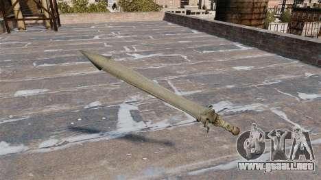 Espada-Rebelión- para GTA 4