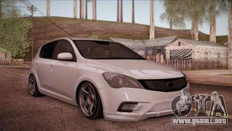 Kia Ceed 2011 para la visión correcta GTA San Andreas