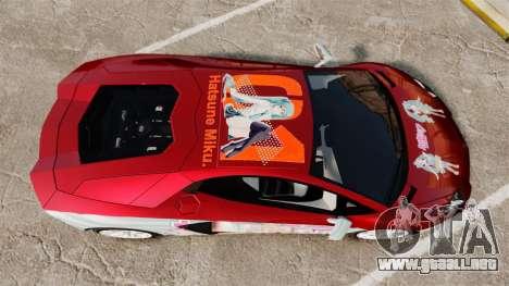 Lamborghini Aventador LP700-4 2012 [EPM] Miku 2 para GTA 4 visión correcta